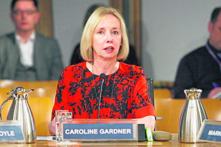 Caroline Gardner, Auditor General for Scotland.