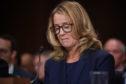 Christine Blasey Ford, testifies before the US Senate Judiciary Committee.