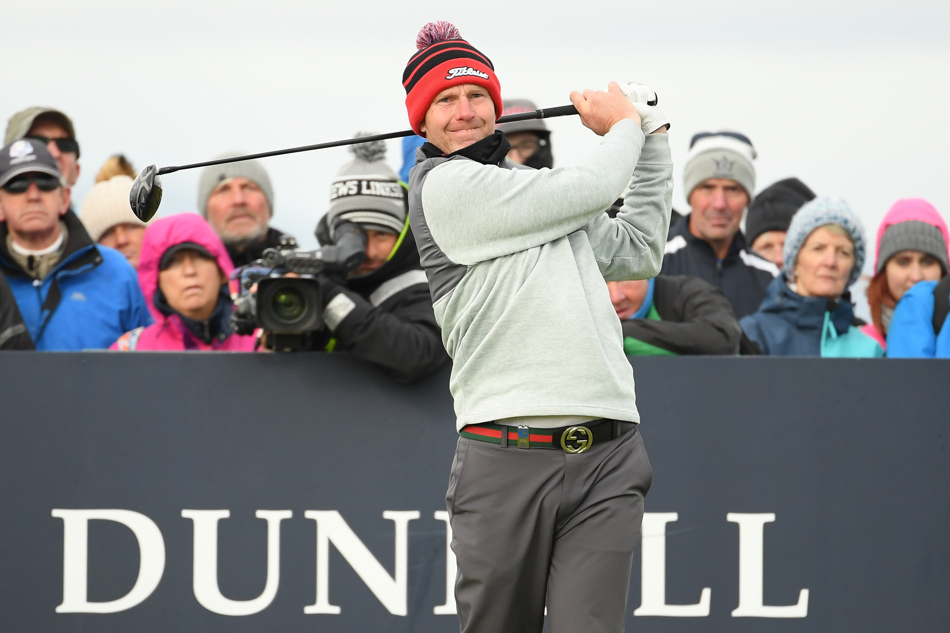 Stephen Gallacher endured a frustrating final round at St Andrews
