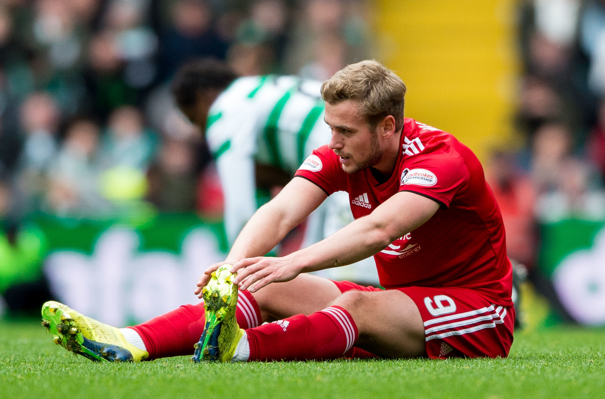 Aberdeen striker James Wilson is on loan from Manchester United.