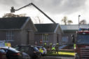 Emergency services called to fire at Stracathro Hospital near Brechin