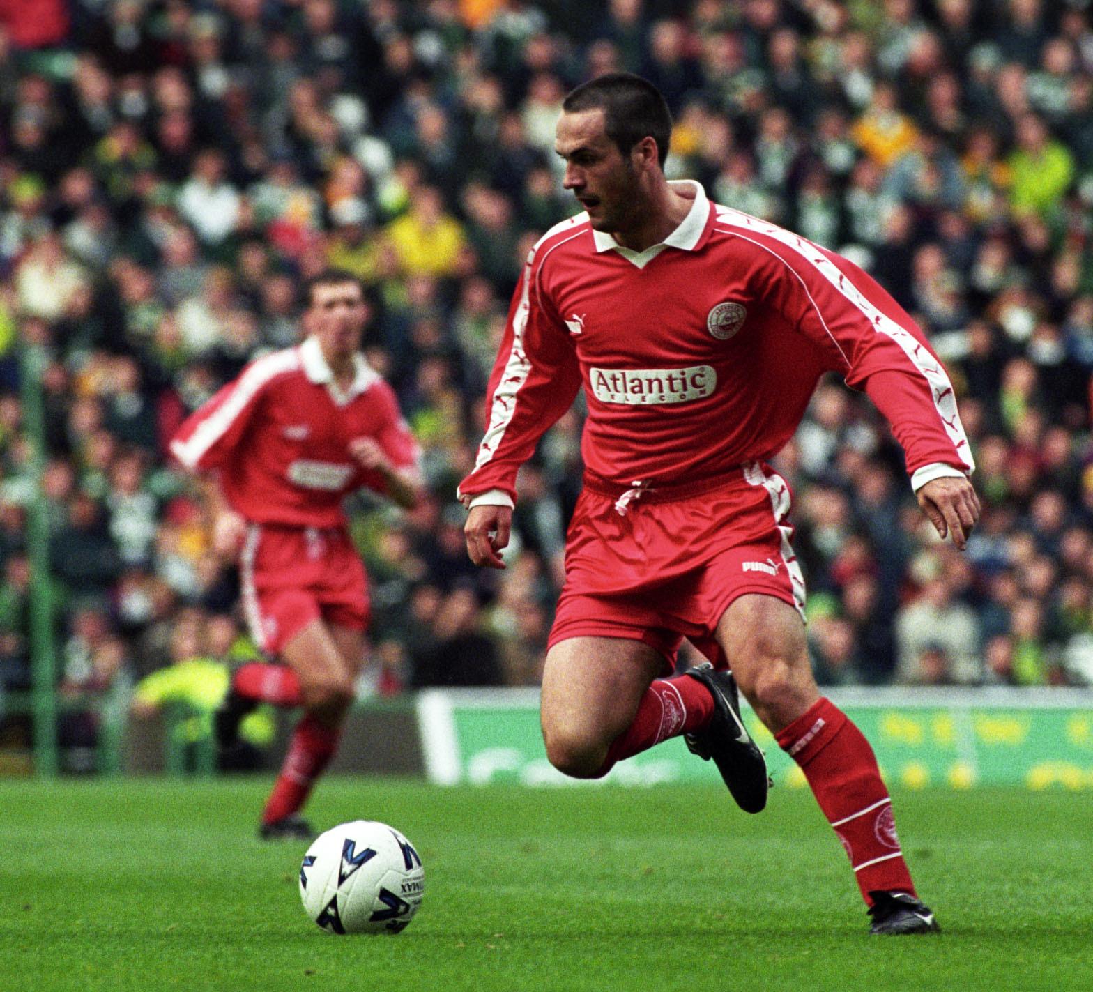 Former Aberdeen striker Robbie Winters.