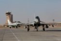 Typhoons arrive in Oman. Picture credit: RAF Lossiemouth