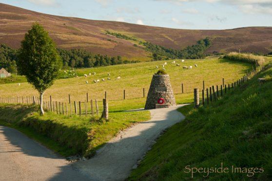 Cabrach Cairn war memorial