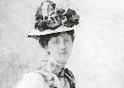 Aberdeen journalist and suffragette Caroline Phillips, pictured around 1900.
