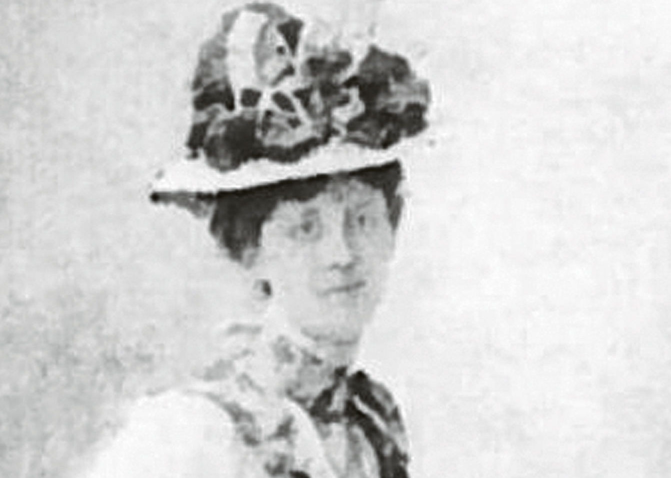 Aberdeen journalist and suffragette Caroline Phillips, pictured around 1900.