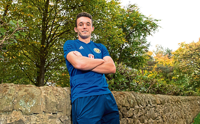 Scotland midfielder John McGinn.