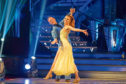 Embargoed to 2035 Saturday September 22   For use in UK, Ireland or Benelux countries only Undated BBC handout photo of Kevin Clifton and Stacey Dooley during a dress rehearsal for Strictly Come Dancing. PRESS ASSOCIATION Photo. Issue date: Saturday September 22, 2018. See PA story SHOWBIZ Strictly. Photo credit should read: Guy Levy/BBC/PA Wire NOTE TO EDITORS: Not for use more than 21 days after issue. You may use this picture without charge only for the purpose of publicising or reporting on current BBC programming, personnel or other BBC output or activity within 21 days of issue. Any use after that time MUST be cleared through BBC Picture Publicity. Please credit the image to the BBC and any named photographer or independent programme maker, as described in the caption.