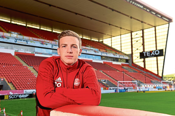 Lewis Ferguson hopes the Dons can keep their winning run going at Motherwell.