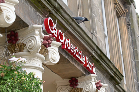 Clydesdale Bank announced plans to close the branches in February.