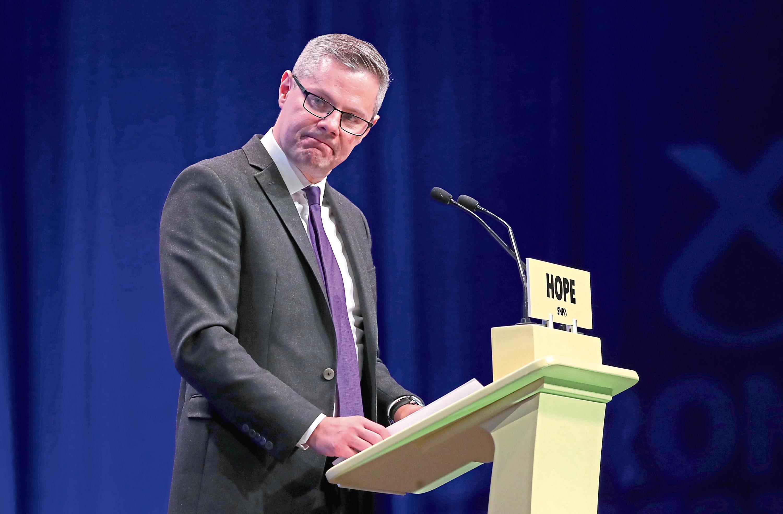 Cabinet Secretary for Finance, Economy and Fair Work Derek Mackay.