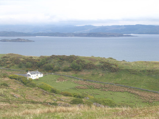 The Barnhill bothy on Jura, where George Orwell wrote Nineteen Eighty-Four.