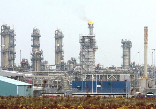 The St Fergus gas terminal