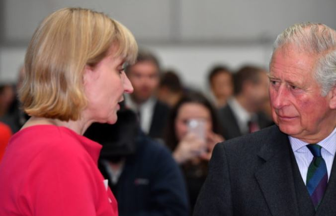 HRH Prince Charles, The Duke of Rothesay, visited Balmoral Offshore Engineering, Aberdeen to officially open the new Balmoral Subsea Test Centre. Pictured - Prince Charles, speaking with Deirdre Michie of Oil & Gas UK.