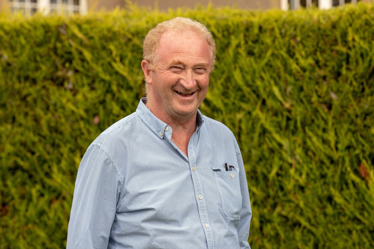 Colin Thomson, 61, from Fortrose survived Prostate cancer as a result of early diagnosis.