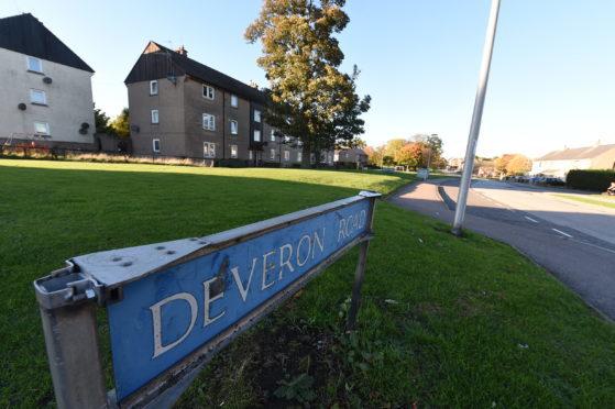 Locator of Deveron Road