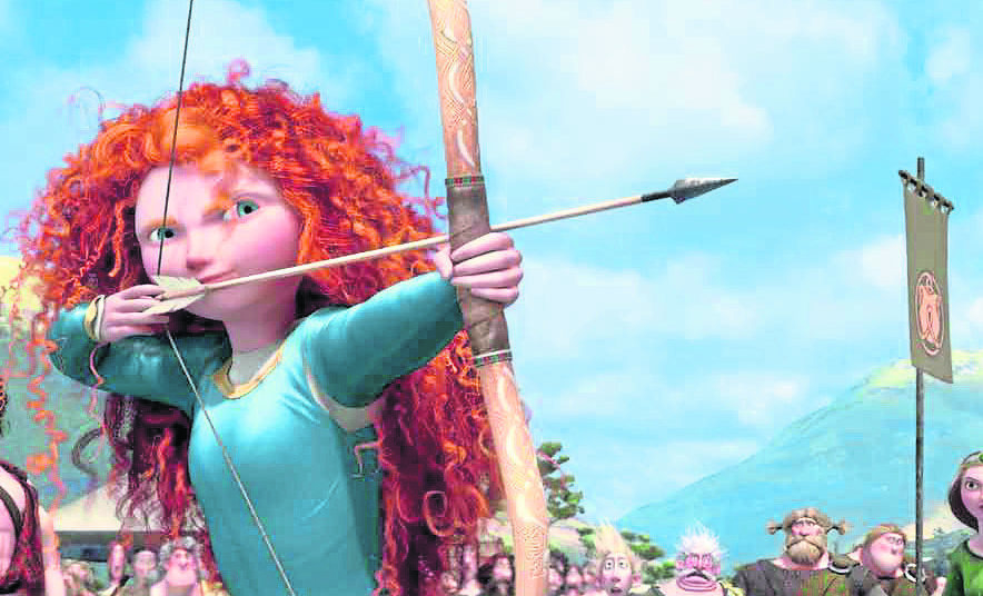 "Films such as ""Brave"" have highlighted the Doric language."