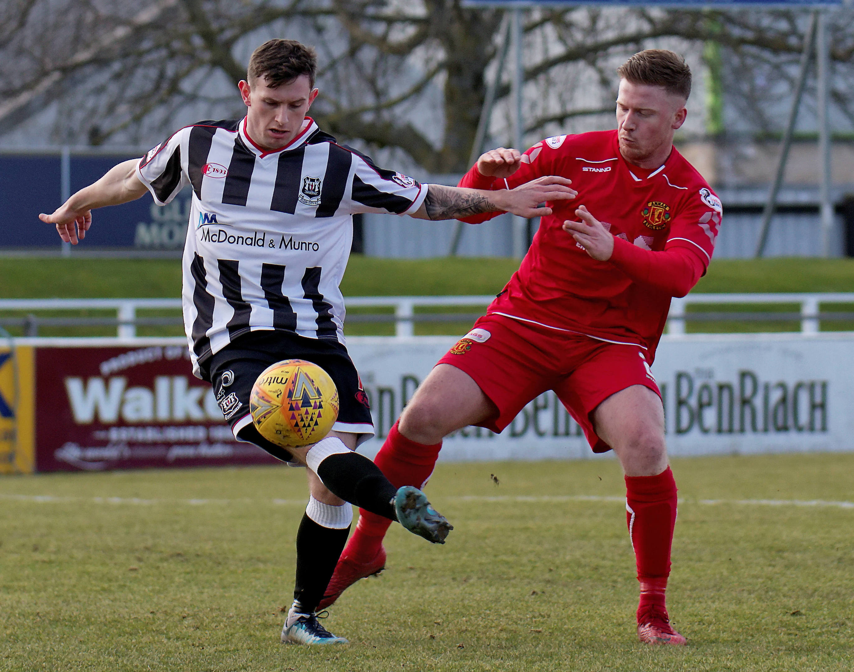 Ali Sutherland has joined Rothes on loan from Elgin City.