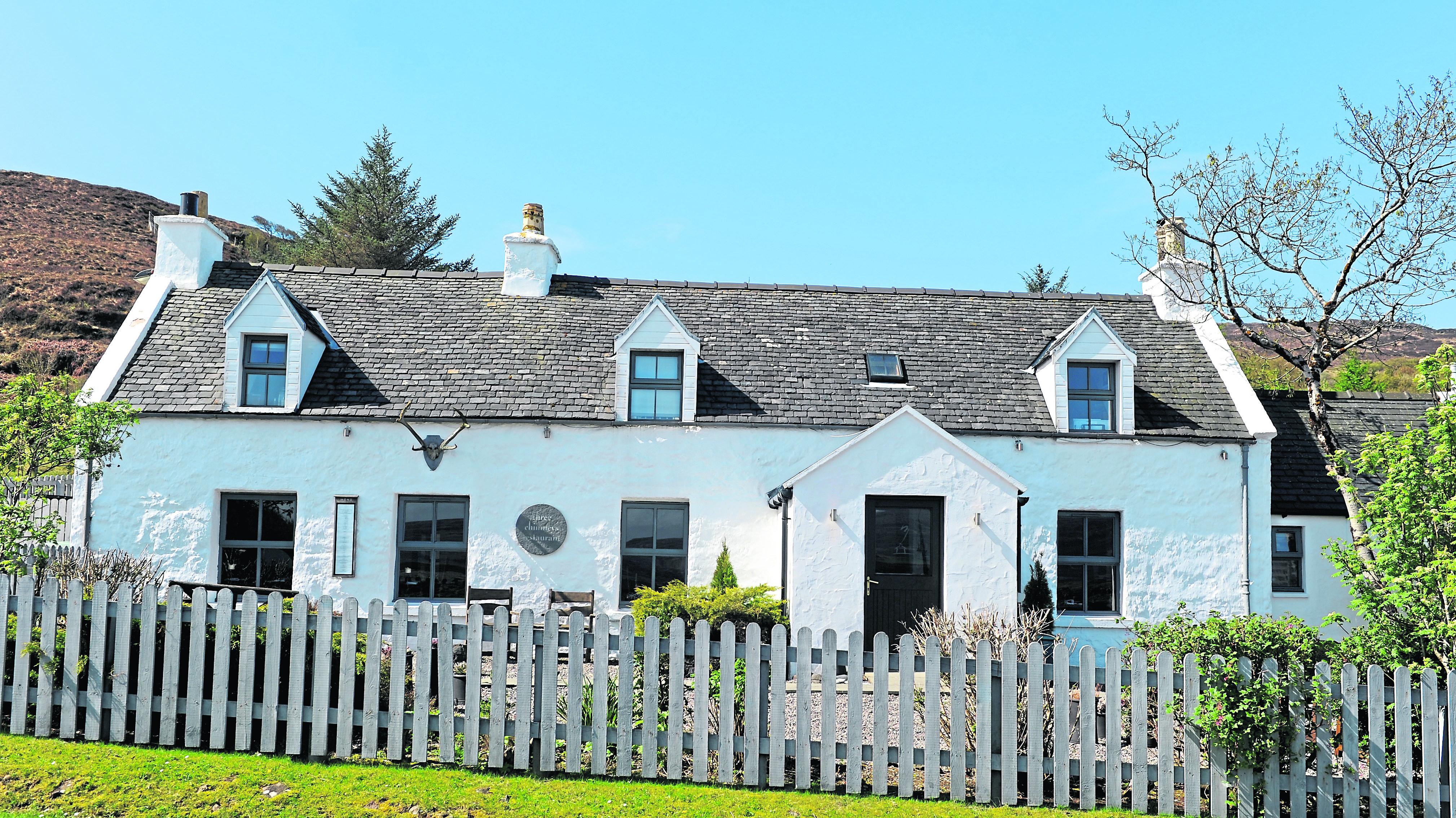 Three Chimneys Restaurant, Dunvegan.