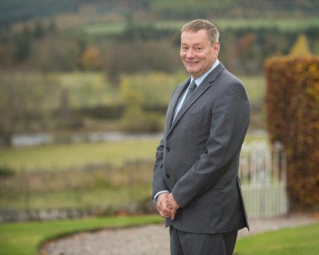 Deputy Lord Lieutenant Mr Charles Milne.