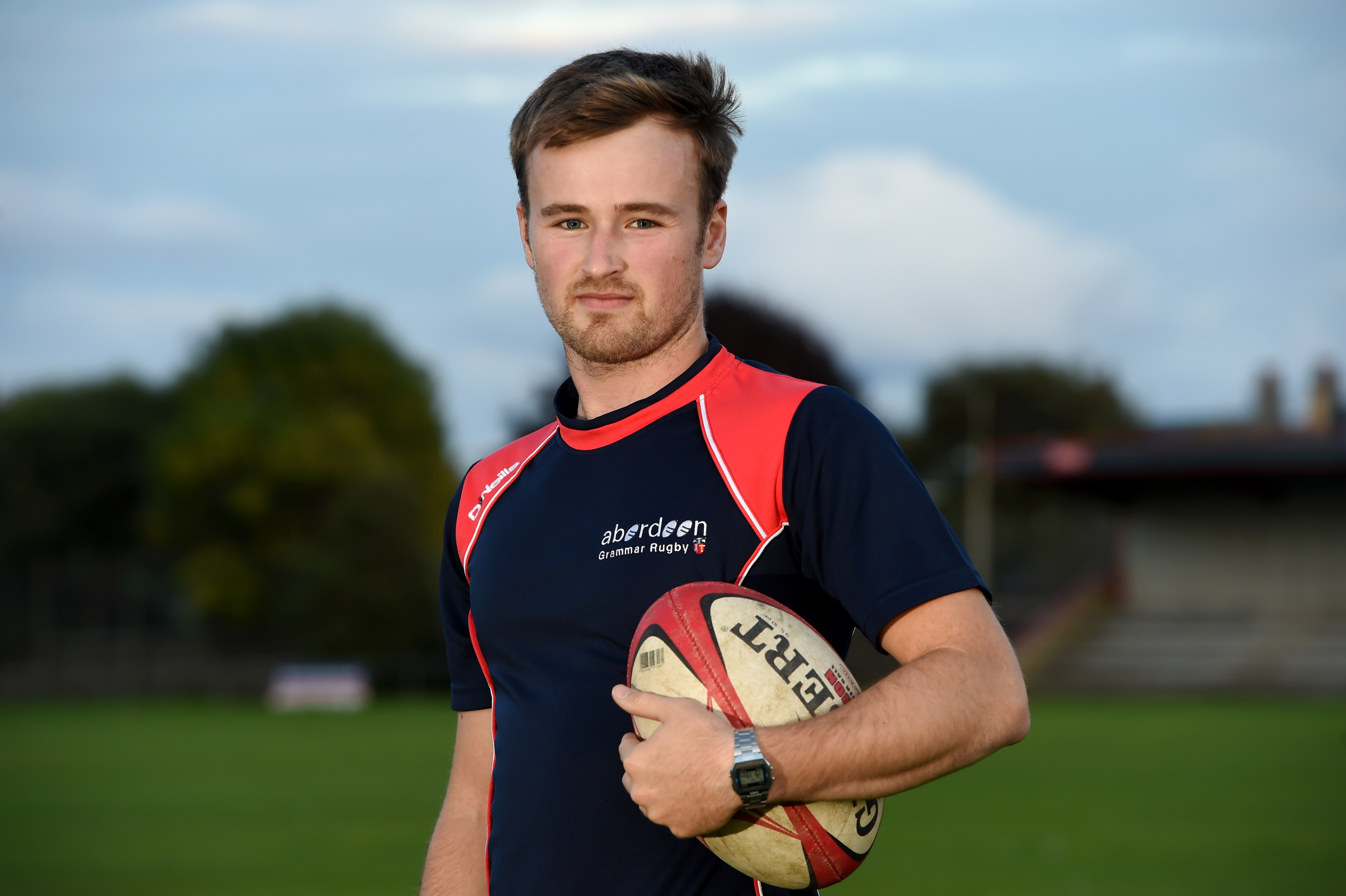 Aberdeen Grammar's Ciaran Wood, who joined from Highland in the summer.
