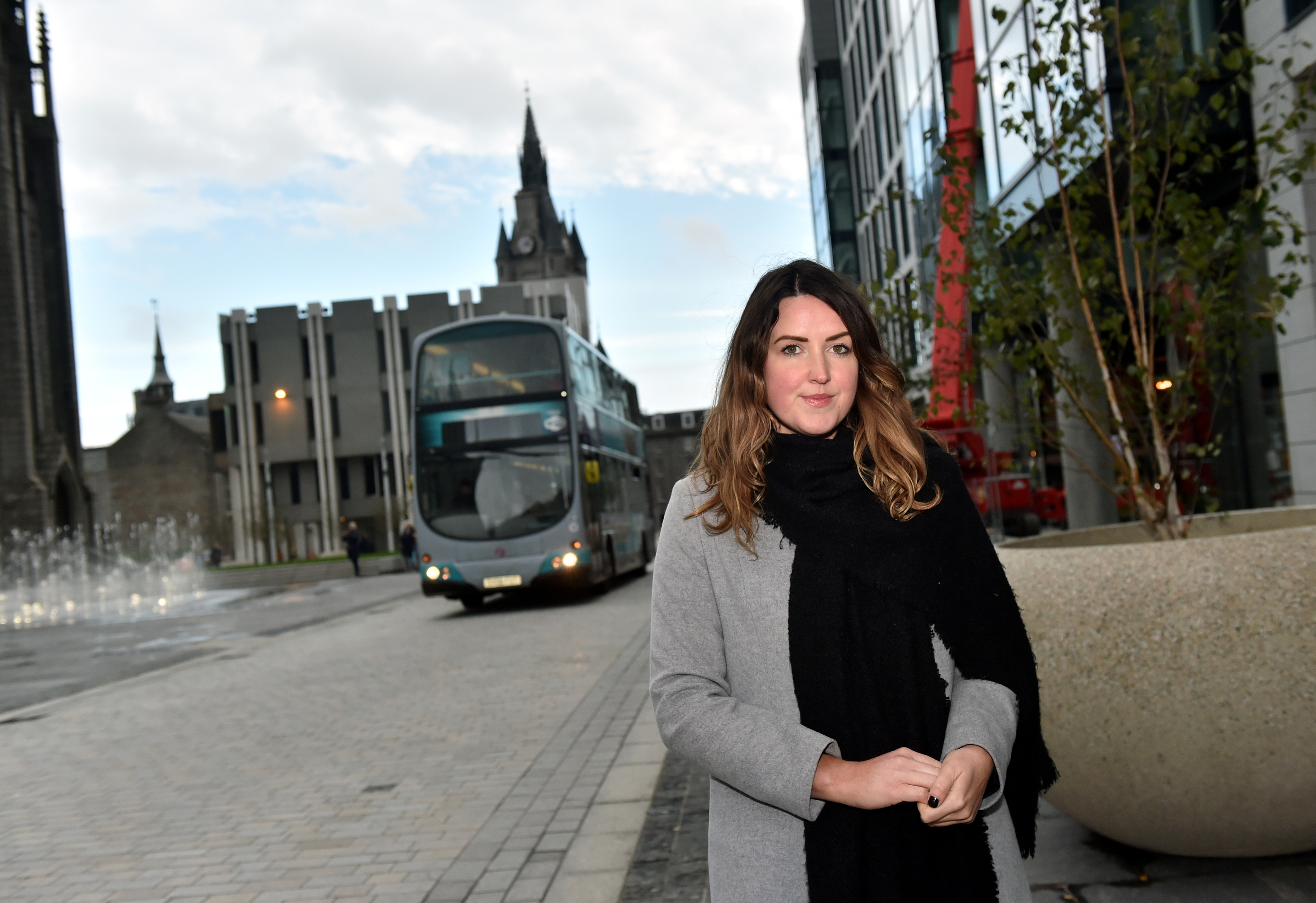 Nicola Johnston, Aberdeen Inspired's evening and night time economy manager.