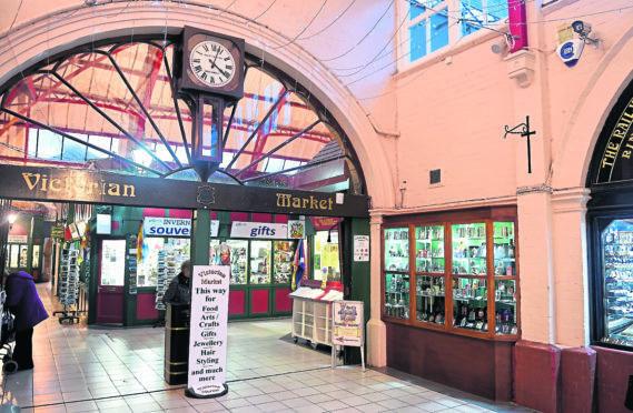 The Inverness Victorian Market.
