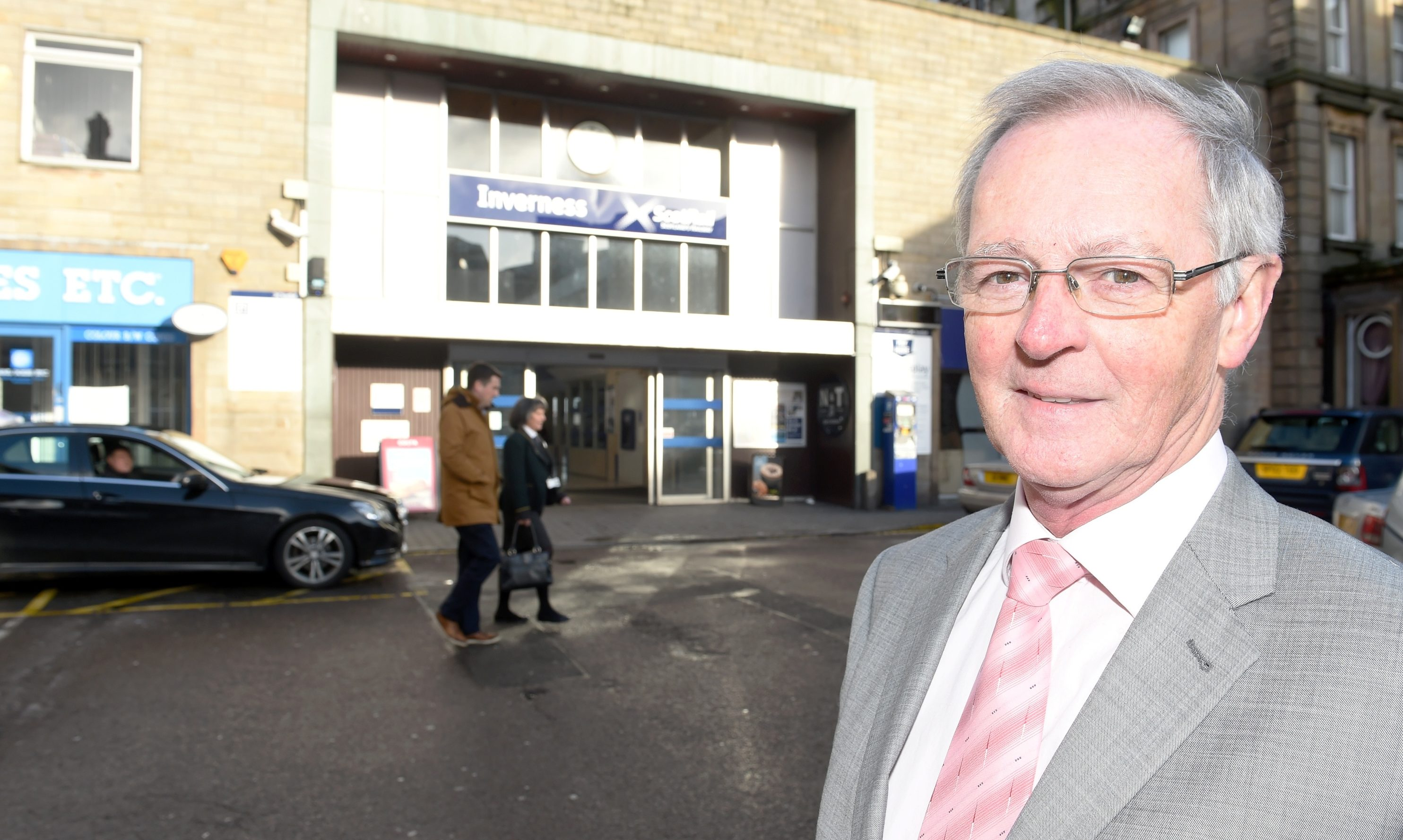 Councillor Allan Henderson, Chairman of Hitrans, is delighted to see the Inverness scheme moving forward.