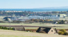 Construction is underway at RAF Lossiemouth.