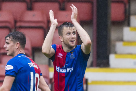 Caley Thistle midfielder Liam Polworth.