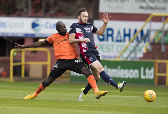 Ross County defender Keith Watson.