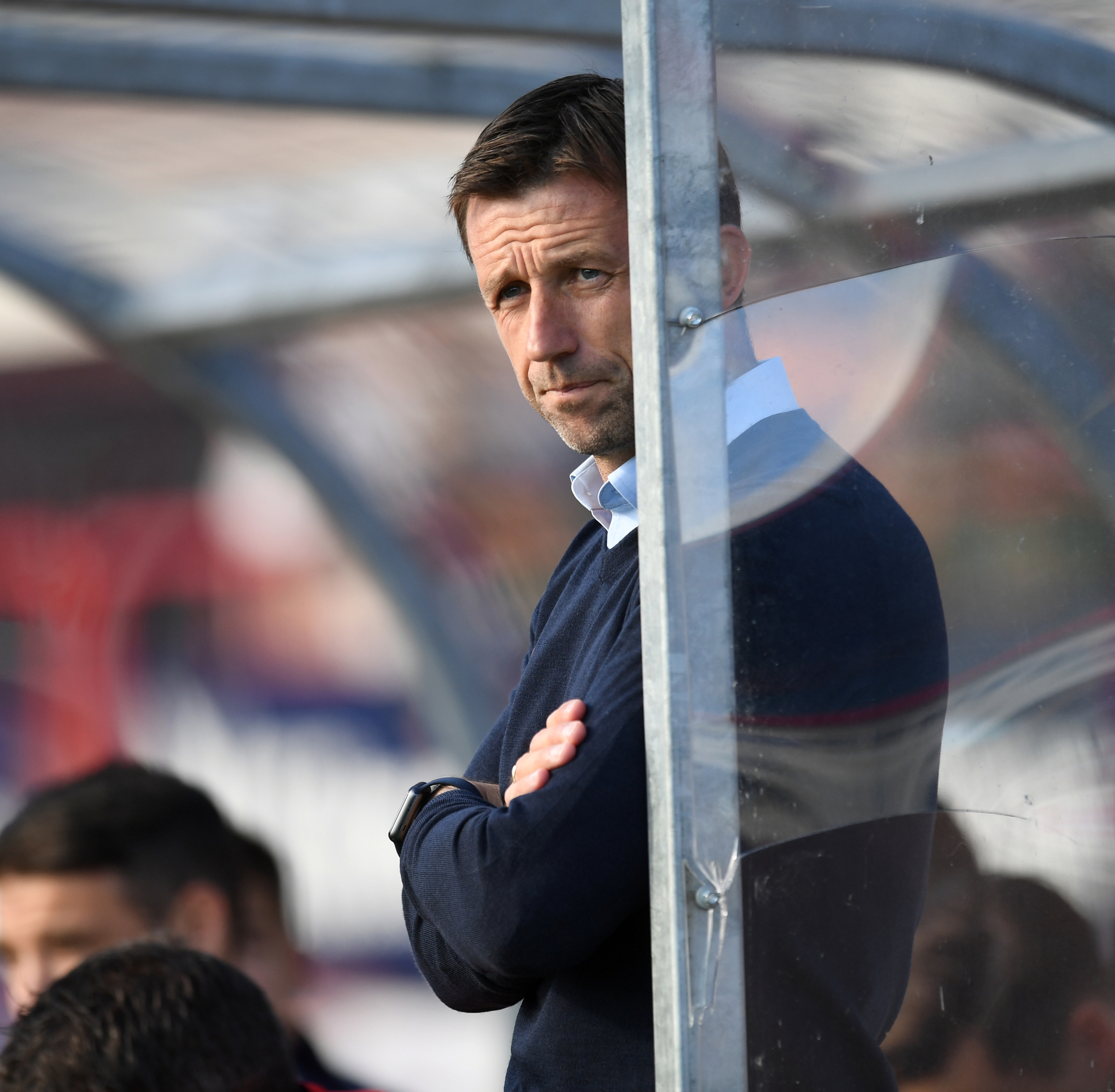 Neil McCann has left his post as Dundee manager.