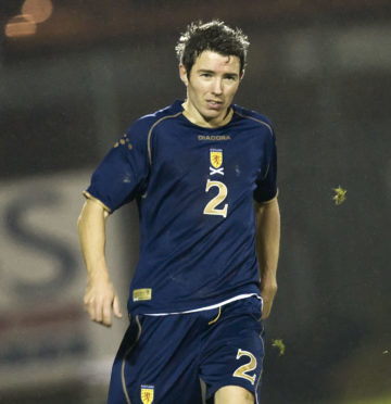 Kevin McNaughton made four appearances for the national side.