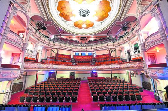 Aberdeen's Tivoli Theatre in all its splendour.