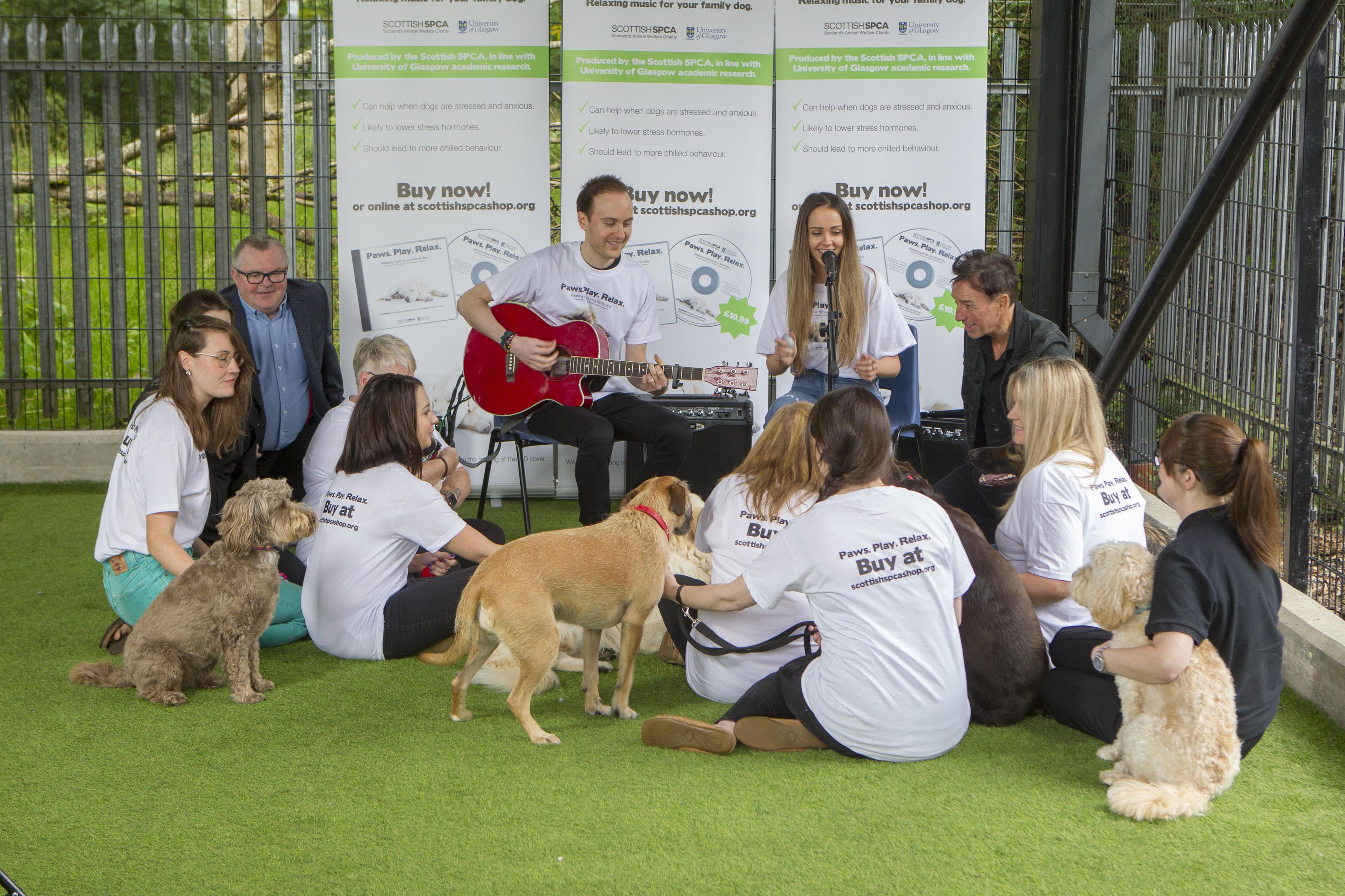 Music for dogs: Scottish SPCA release doggy inspired music album