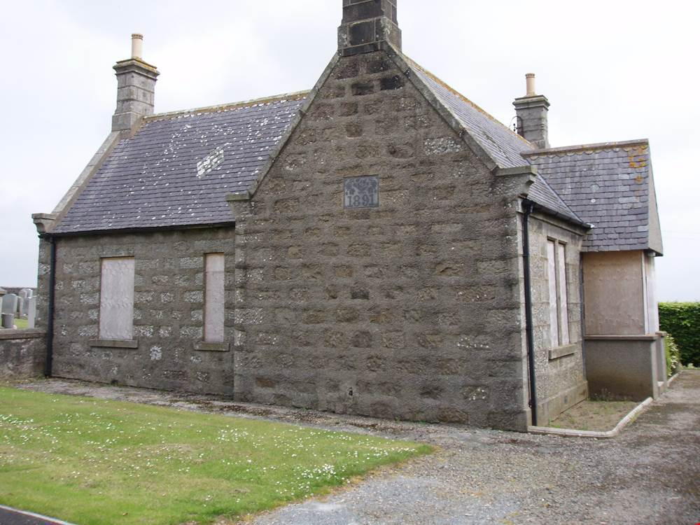 Picture of the Former Cemetery Lodge as listed on ASPC for price over £70,000