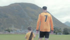 A still from the fan-made film about Fort William Football Club.