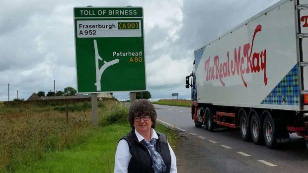 Councillor Gillian Owen runs the campaign group Why Stop at Ellon