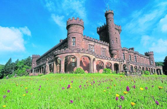 Kinloch Castle on the Isle of Rum NNR. ©Lorne Gill/SNH.