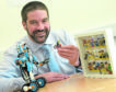 Ollie Bray, Head Teacher of Kingussie High School who is off to Denmark to take up an appointment as 'Initiative Lead' with the Lego Foundation. Picture by Sandy McCook.