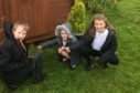 Evan Buchan, Frey Ross and Eden Lawson. Picture by Joanne Warnock.