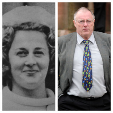 Renee Macrae (left) and Inverness-based journalist David Love, who has followed the case professionally for more than 40 years.