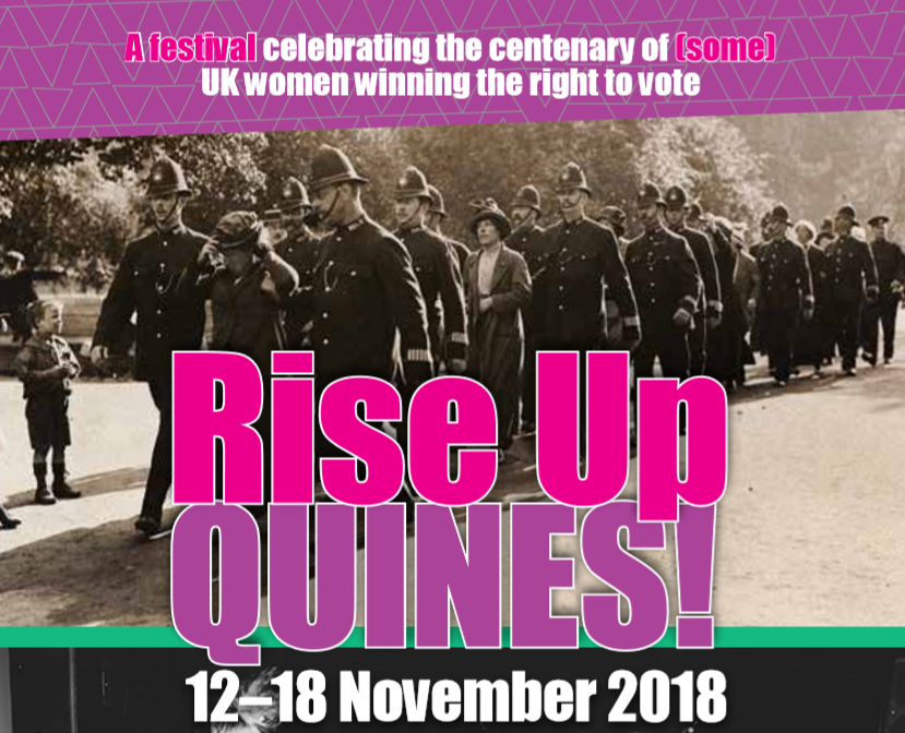The festival will celebrate the centenary of women receiving the right to vote