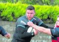 rugby Chris Arnott  MUST CREDIT BILL BUCHAN PHOTOGRAPHY