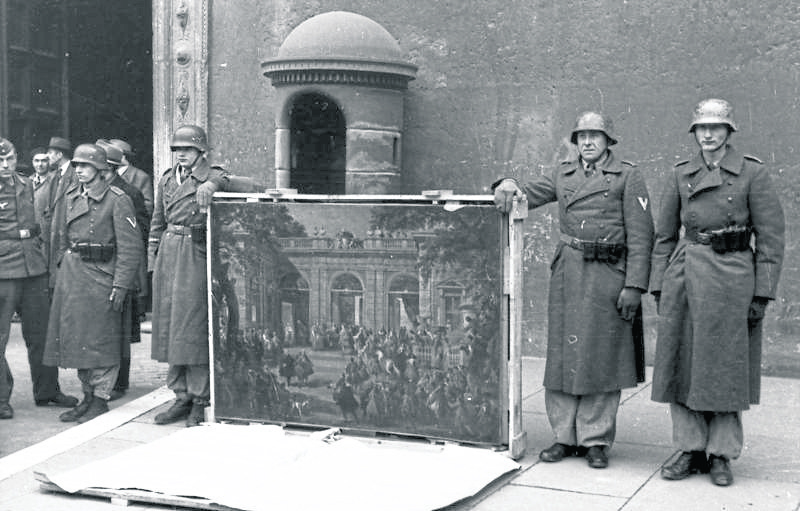 Nazi art and human remains have been banned from city art collections.