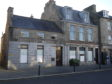 The former RBS in Huntly has been taken over by the community.