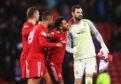 Joe Lewis is pleased with Aberdeen's defensive resilience.