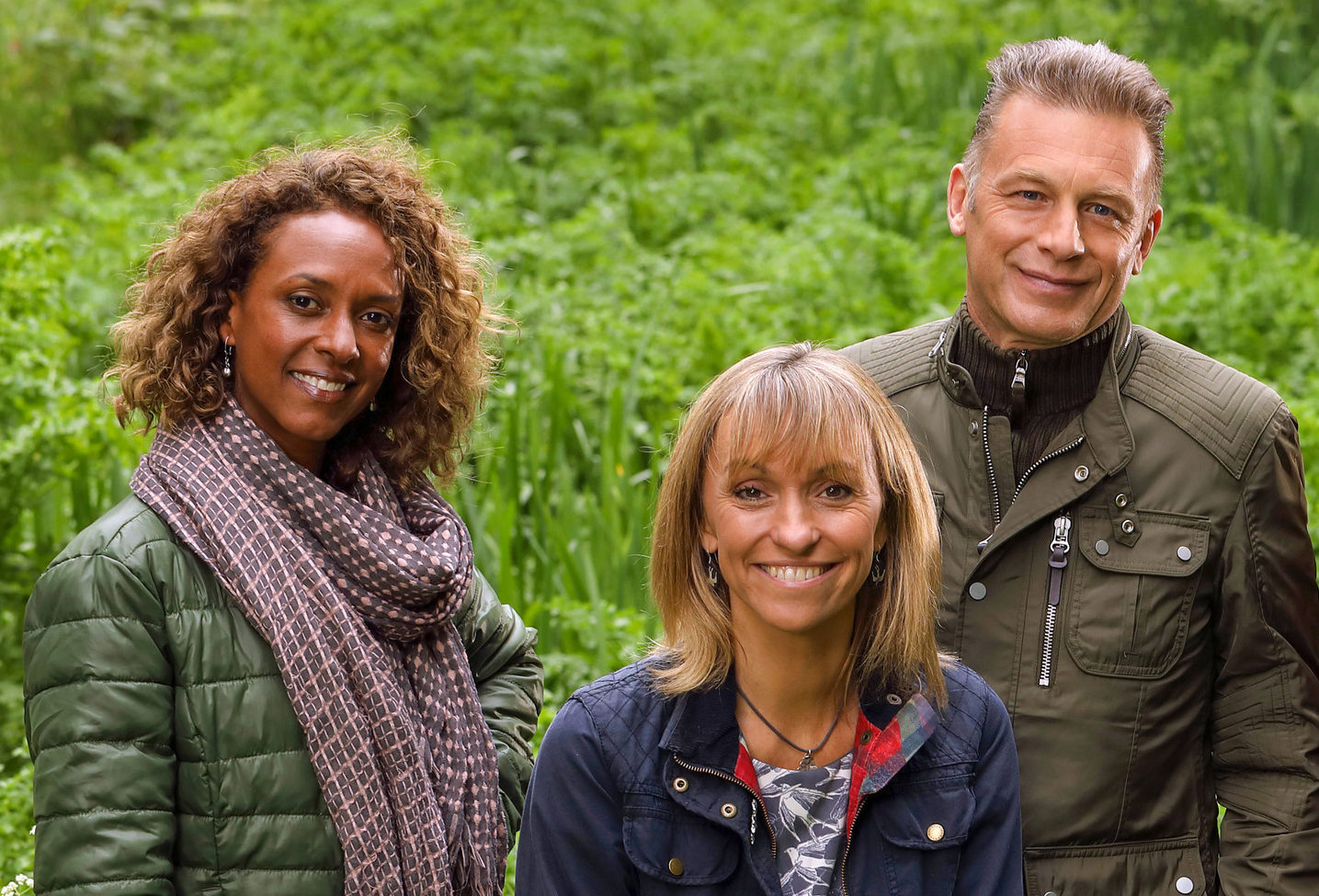 Presenters Gillian Burke, Michaela Strachan and Chris Packham say they are excited about the series.