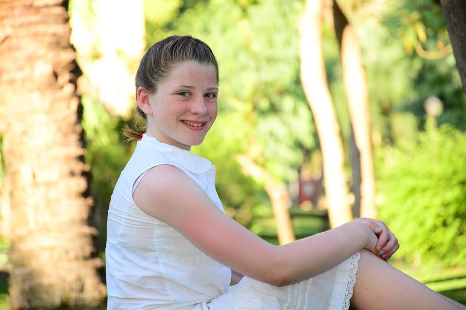 Sadie Merrin was just seven years old when she received a heart transplant