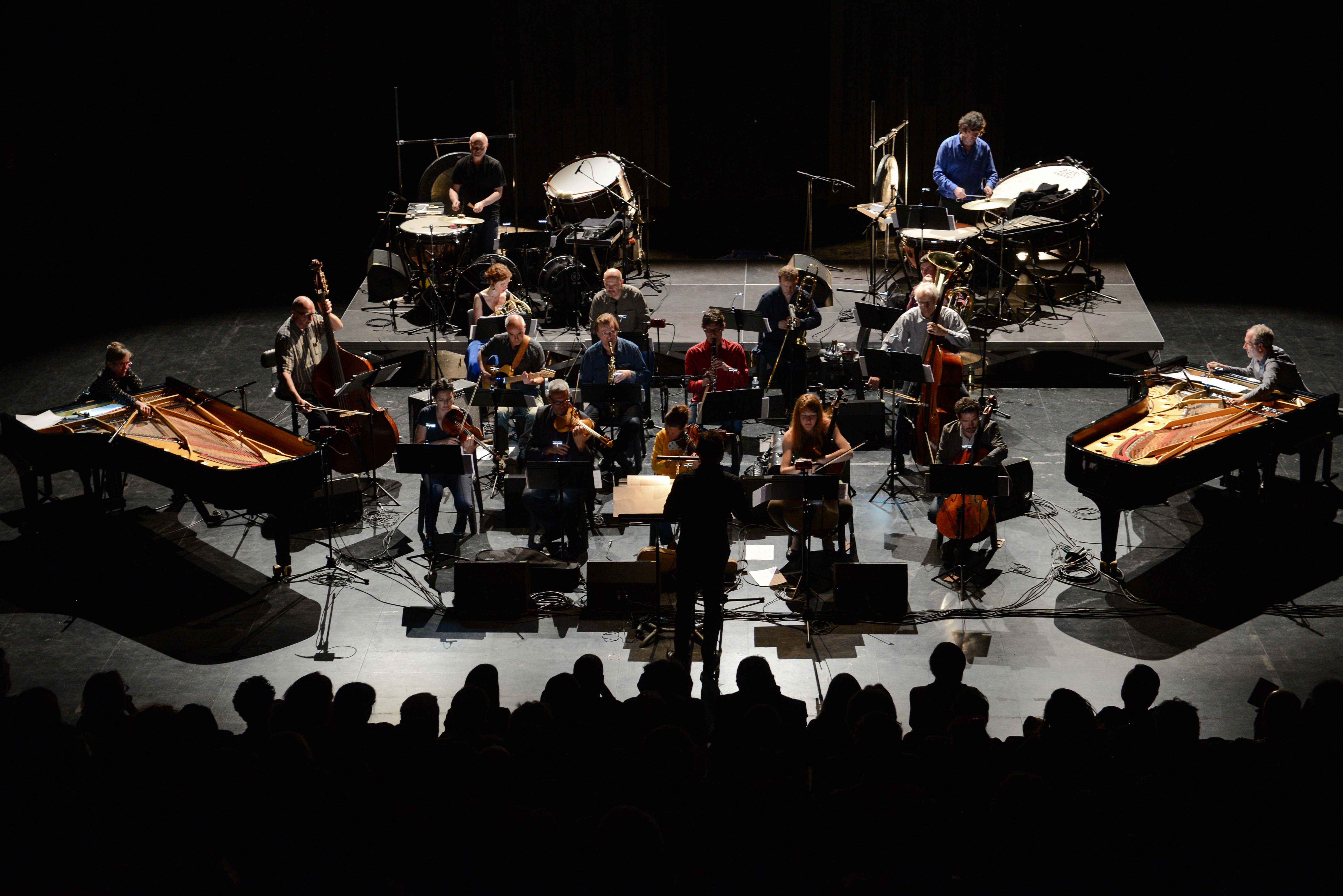 Ensemble 2e2m performed at Sound Festival 2018.